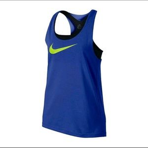 Girl's Nike Tank Top w/ Attached Bra💙